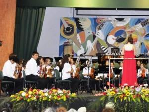 Orquesta Infantil –Juvenil del Taller de Formación Musical Batuta Bucaramanga.
