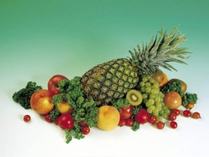 Una de las claves para mantener la buena salud es el consumo de frutas, verduras y cereales dos o tres veces al día.