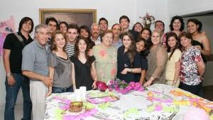 Cumpleaños María Mercedes Ferreira y César Augusto Ferreira