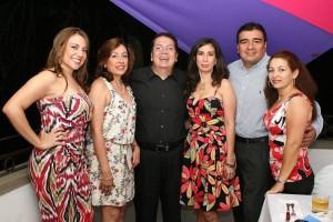Jadi Olarte, Fanny González, Alfredo Serrano rueda, Delci Yolima Mora, José Araque y Luz Estela Jiménez.