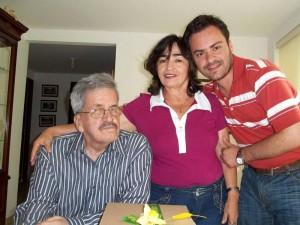 Álvaro Galvis Arenas, Ángela Sierra Vecino y Oscar Galvis Sierra.