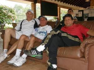 Hernán Jiménez, Edwin Cagua y Jorge Herrera.