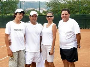 Castro, Liliana Castellanos y Edwin Giraldo