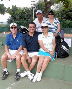 Rafael Romero, Sandra Torres, José Gordon, Edgardo Enciso y Gloria Estela Pérez Durán.