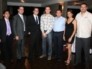 Marcos Fernando Reyes, Ronal Escalona, Carlos Agüera, Ricardo Lucero, Danilo Pastor, Brunil Romero y Hugo González.