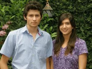 Ana María y Juan David.