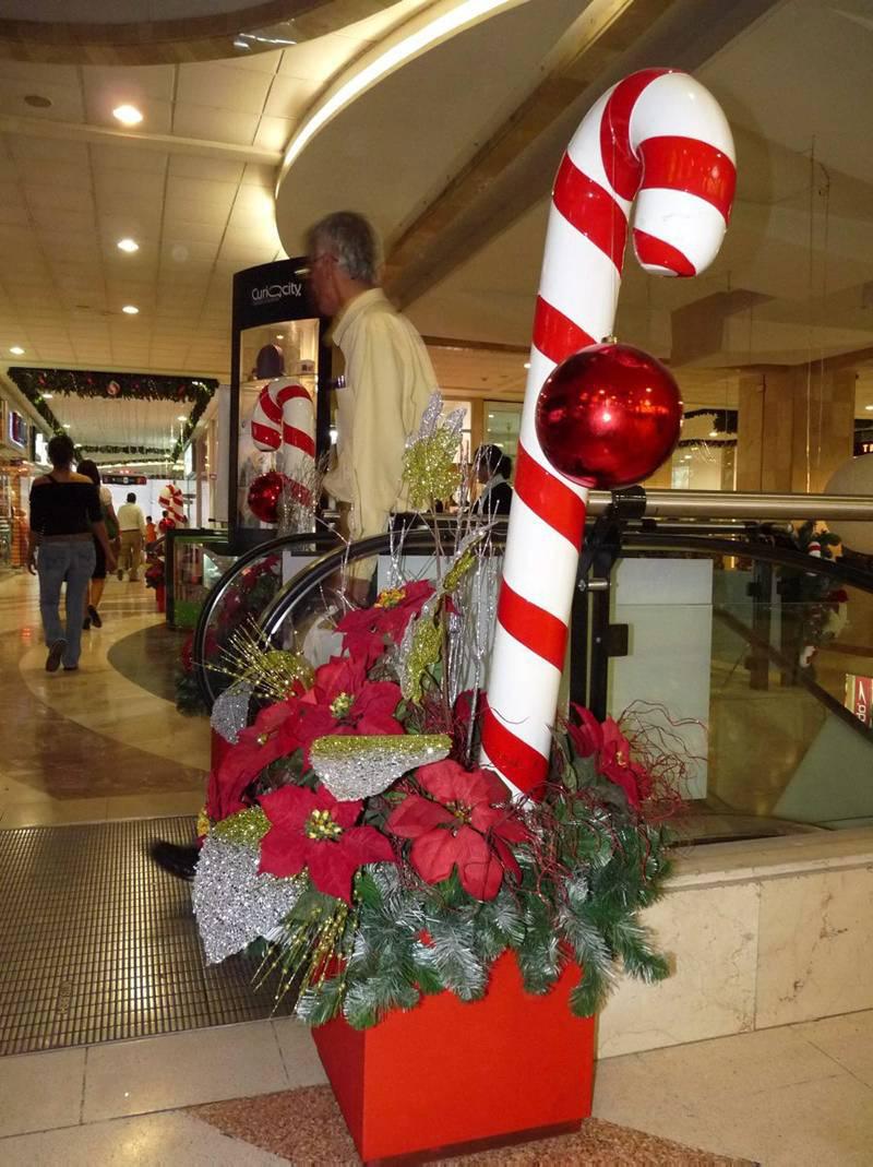 La navidad se 39 col 39 a los centros comerciales en estas for Fotos decoracion navidad