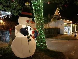 Las luces navideñas y reuniones navideñas son algunas de las tradiciones que se siguen manteniendo durante la Navidad.