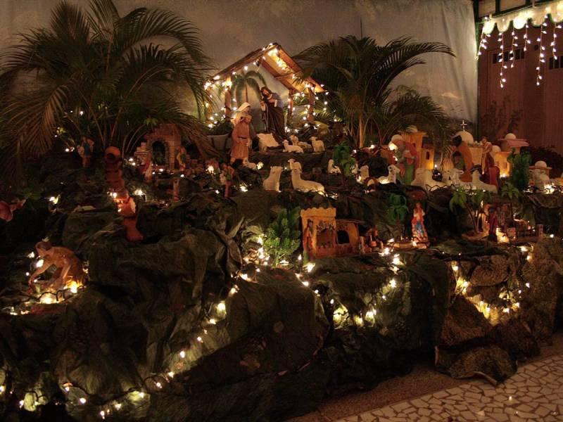 Nacimiento Del Nino Jesus Decoracion