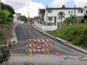 La reparación total de la vía estaría finalizada a mediados de la próxima semana para habilitar el paso vehicular.