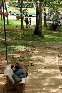 Dormidos en La Pera.