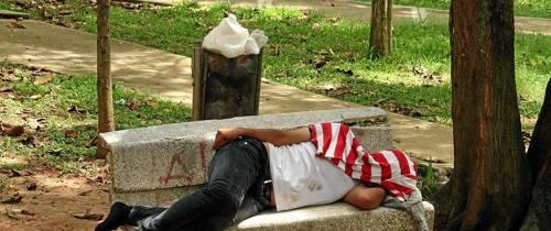 Dormidos en La Pera