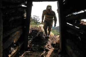 En los Farallones de Cali existen 84 socavones, muchos de ellos fueron perforados inútilmente pues no encontraron oro. (Colprensa – El País)
