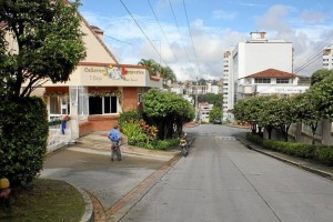 Esta es la zona donde según la residentes se ubica el grupo de jóvenes hasta altas horas de la madrugada.
