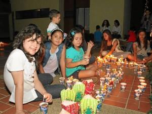 Las familias se reunieron en torno a este día para compartir  al lado de adultos y los más pequeños.