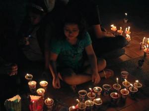 Los residentes del conjunto Altos de Cañaveral también se sumaron a la celebración.