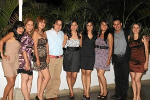 Kelly Oviedo, Andrea Ariza, Erika Duarte, Felipe Bernalastrid Bernal, Luz Mary Martínez, Sandra Barrera, Edwin Jiménez y Tatiana Cala.