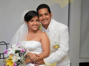 Viviana García y Gustavo Mayorga.