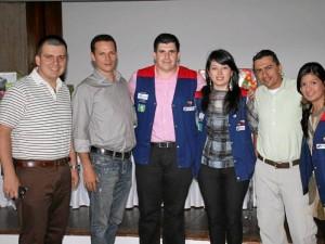 Carlos Quintero, Vladimir Amaya, Pedro Rueda, Ángela Durán, Carlos Sierra y Laudy Ramírez.