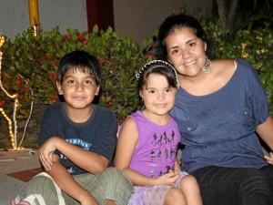 Julián Andrés Aguilar, María José Gómez y Diana Granados.