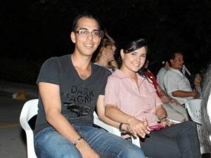 Luis Orlando Rivera y Viviana Cuadros.