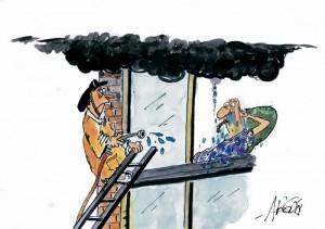 Son repetitivas las quejas por los fumadores que se ubican en balcones de edificios y conjuntos residenciales.