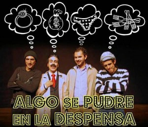 La obra que se presentará en un restaurante de La Mesa de Los Santos se titula la realiza el grupo de Teatro UIS.