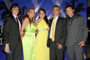 Kevin Olaya Angarita, Mariela Angarita Nieto, Hillary Olaya Angarita, Jesús Olaya Benítez y Hagee Olaya Angarita