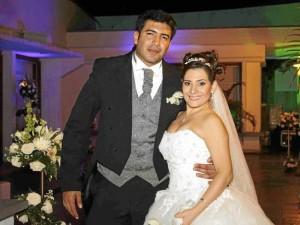 Javier Meléndez y Libia Milena Hernández.