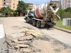 Según la Secretaría de Infraestructura los arreglos deben correr por cuenta de las constructoras.