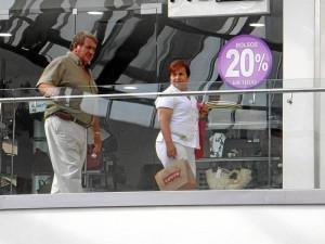 Diciembre fue el mes con mayores ventas en los centros comerciales.