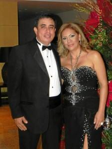Libardo Lagos y Sandra García.