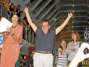Muy emocionado estuvo el señor Rosendo Castellanos tras conocer el resultado del concurso.