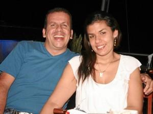 Edwin Alfonso y Diana Patricia Barón