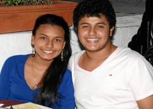 Mariam Berbeo y Jesús Lemos.