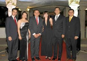 Adolfo Fernández, Dolly Bocanegra, Mauricio Osorio, Paula Vásquez, William Manrique y Luis Carlos Jerez.