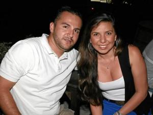 Julie Rincón y Pablo Acevedo