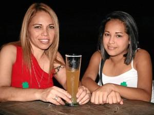 Lina Páez e Ibeth Gómez