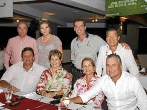 Guillermo Ramírez, Luz Marina Martínez, Amparo Lucena, Juan Fernando Mejía, Ruben Arango, Bety López, Juan Carlos Domínguez y J. A. Choi.