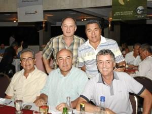 Pedro Gamboa, Juan Manuel Llano, Alfonso Londoño, Carlos Eduardo Llano y Héctor hoyos.