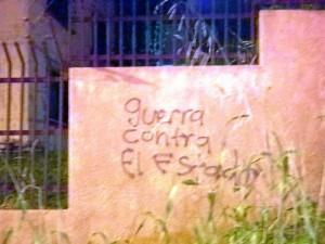 """""""Guerra contra el Estado"""""""