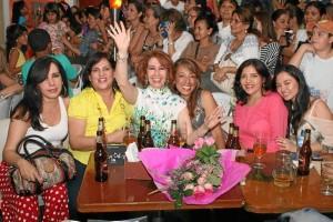 Bety Ortiz, Irene Cabrera, Nelly Ortiz, Edna Sofía Arenas, Janeth Perdomo y Cindy Gómez.