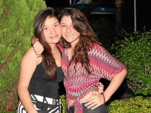 Daniela Delgado y Sara Rayo