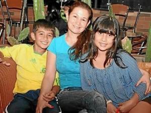Andrés Felipe Vargas, Sandra Isabel López y Silvia Catalina Vargas