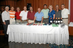 Jaime Calderón, Alfonso Zambrano, Manuel Díaz, Jaime Ariza, Libaniel Coy, Armando Ariza, Rafel  Buenaventura, Fanny Herrera y Antonio Herrera.