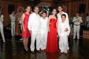Martha Cecilia Jurado, Miguel Ángel Barajas, Miguel Ángel Barajas Jr., Paola Barajas, Cristian Camilo Barajas y Andrés Felipe Barajas.