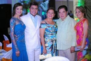 Constanza Cadena, Jeixon Contreras, Nelcy Calderón, Ramón Contreras y Yamile Contreras.