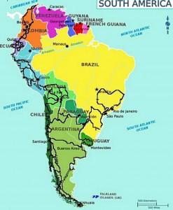 La ruta empezará por Colombia y seguirá hacia Ecuador, Perú, Bolivia, Chile, Argentina, Uruguay, Brasil, Paraguay y nuevamente Bolivia, Perú, Ecuador y Colombia.