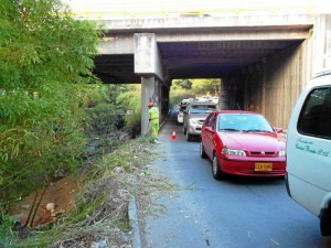 Arreglaron paso peatonal entre Cañaveral y Molinos.
