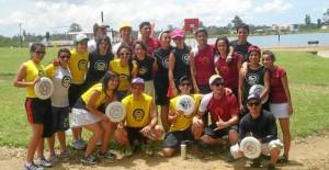 Este fue el equipo que se hizo la exhibición en Acuarela.